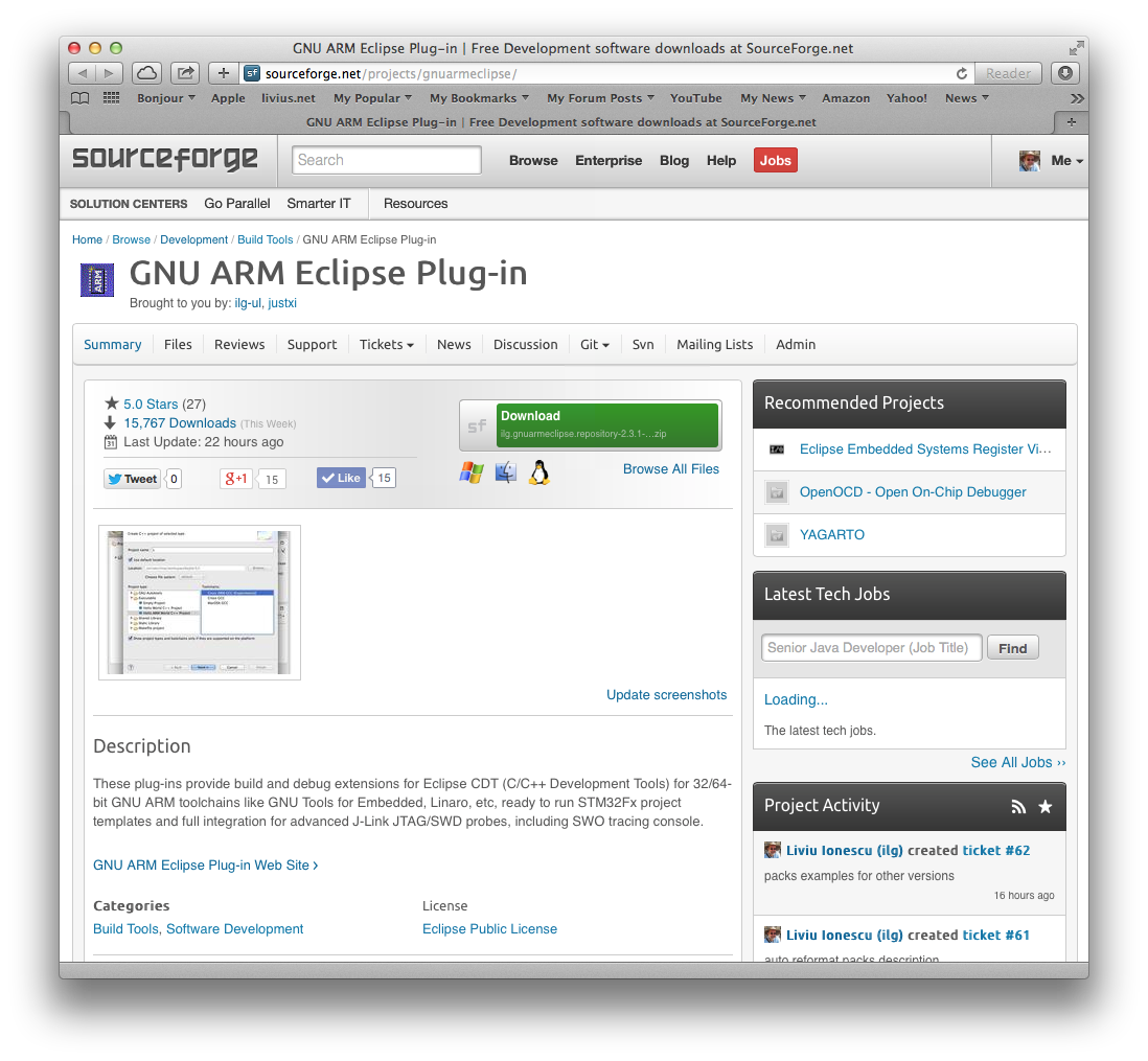 SourceForge project